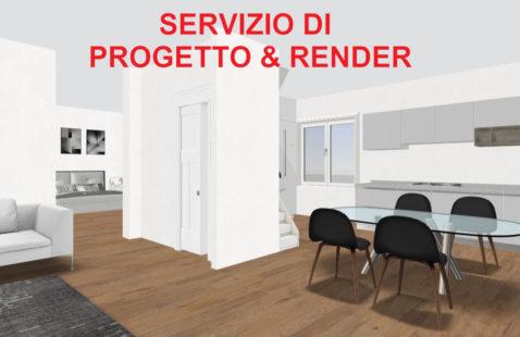 Servizio di rendering e progettazione